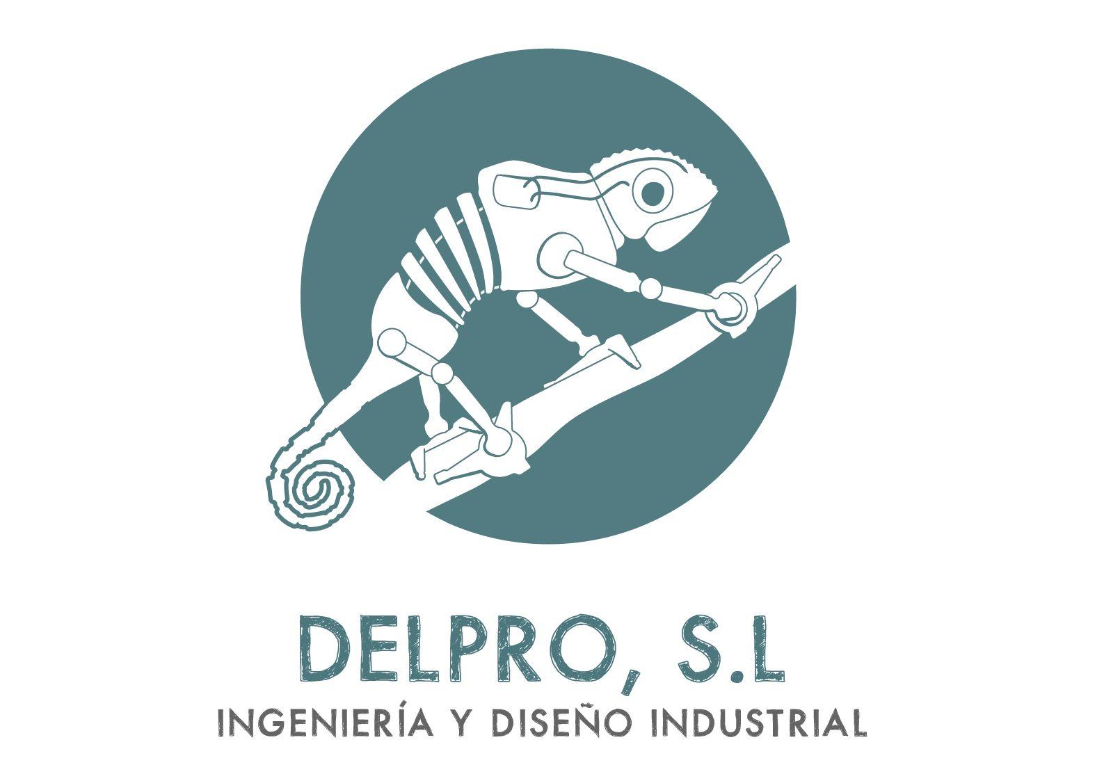 Nuevo logotipo Delpro
