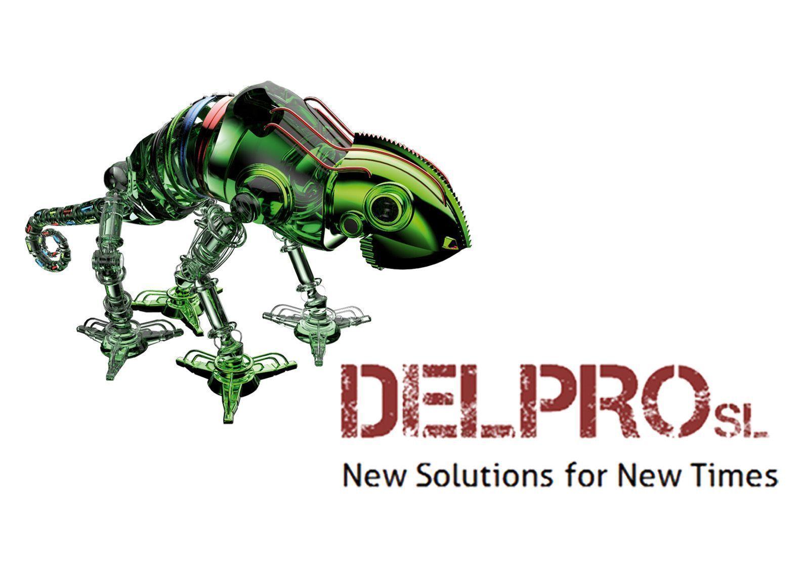 Logotipo antiguo Delpro