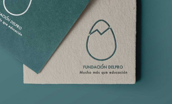 Fundación Delpro Logotipo